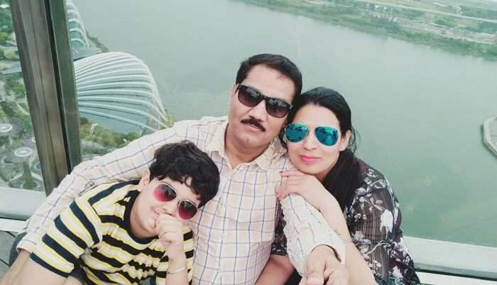 Cover - Rajiv family trip to Singapore