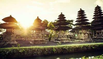 Pura Taman Ayun temple In Bali