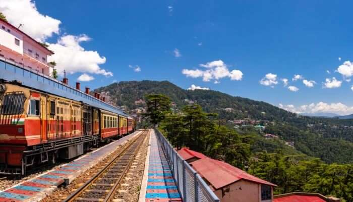 Awesome Delhi To Shimla Train