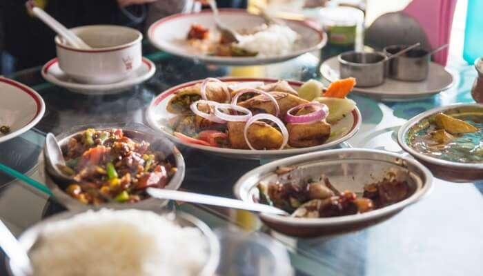 Superb Sikkim Food