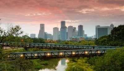 sunrise in Texas in November
