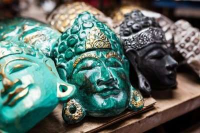 buddha face painting masks