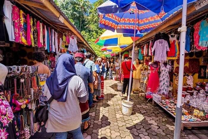 flea market in Bali