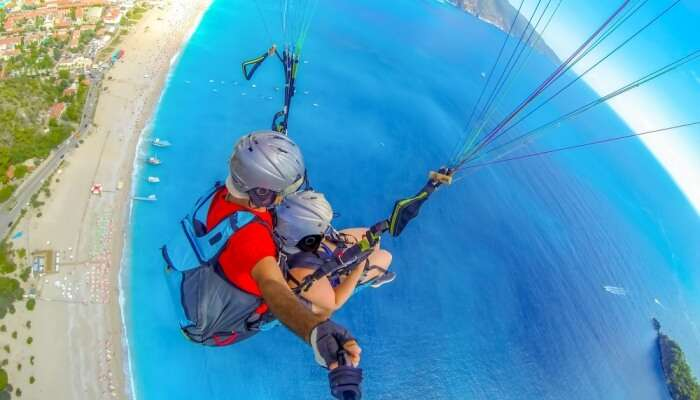 Awesome Paragliding In Los Angeles