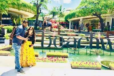 cover - Deepak Kumar Honeymoon Trip To Bali