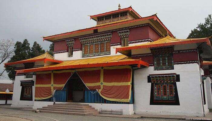 Enchey Monastery View