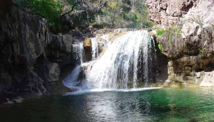 Fossil Creek Falls