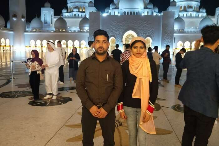 cover - shavy honeymoon trip to Dubai