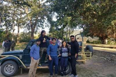 cover -Tapan's Friends trip To Jim Corbett