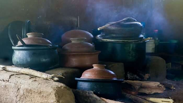 cooking the authentic food