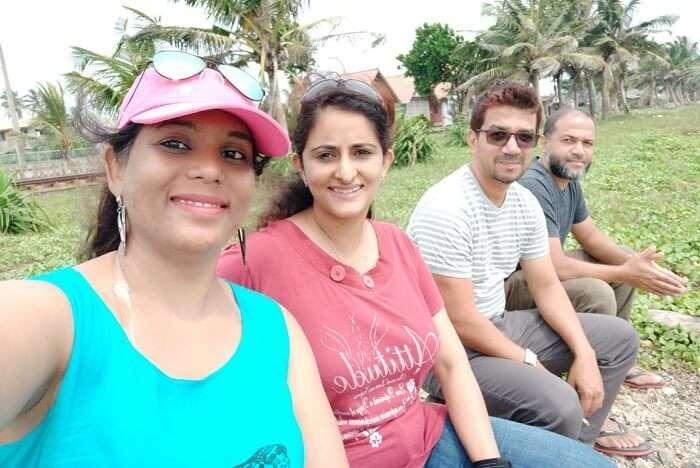 Cover - Kamakshi sri lanka trip with friends