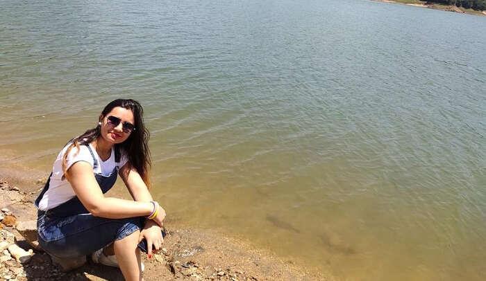enjoyed sitting at the backwaters