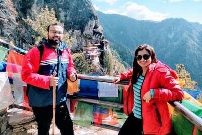 cover - Ankur romantic trip to Bhutan