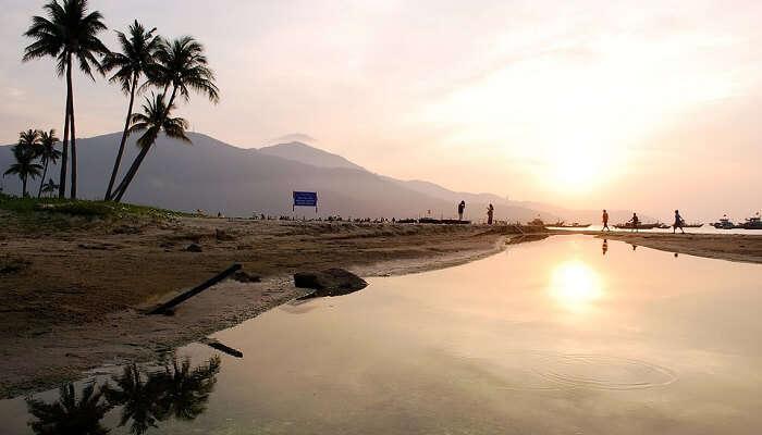 My Khe Beach in Vietnam