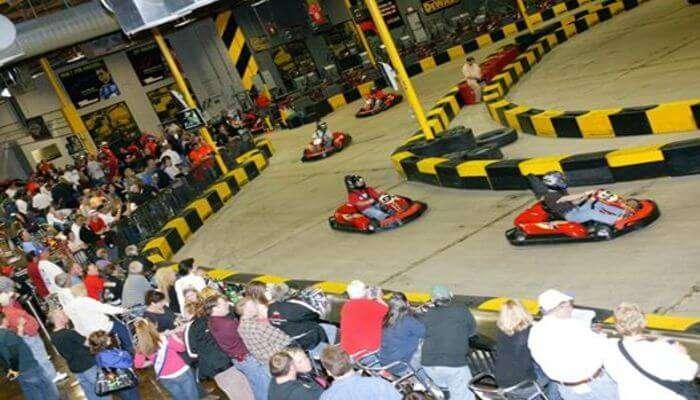 Pole Position Raceway Indoor Karting