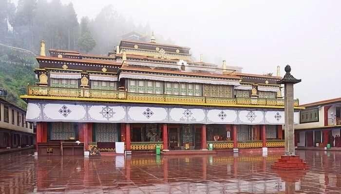 Rumtek Monastery View