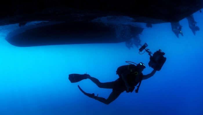 Scuba Diving At South Button