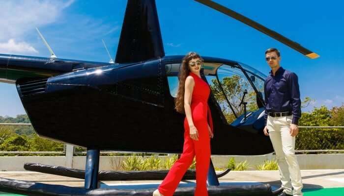 Take A Helicopter Tour Of The Island