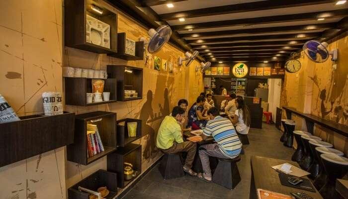 Tea Post In Bhavnagar