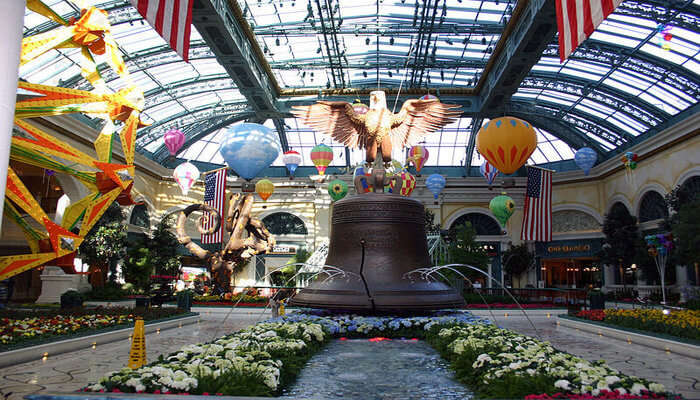 The Bellagio Conservatory