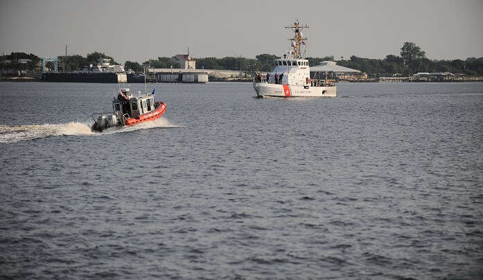 Coast Guard Cutter Diamondback relocates to Sector Jacksonville