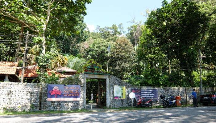 Tropical Spice Garden  in Malaysia