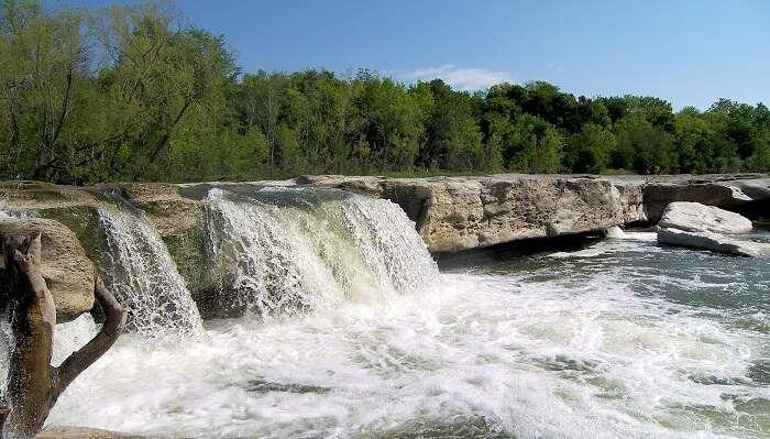 Westcave Preserve Falls