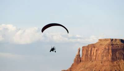 Adventurous Paragliding in Arizona