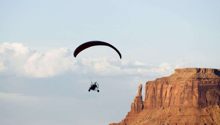 Adventurous Paragliding in Arizona