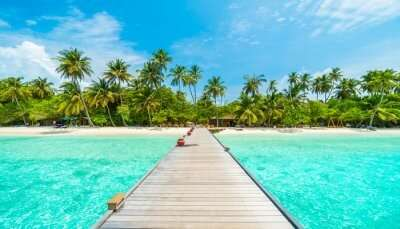 Best artificial beach maldives