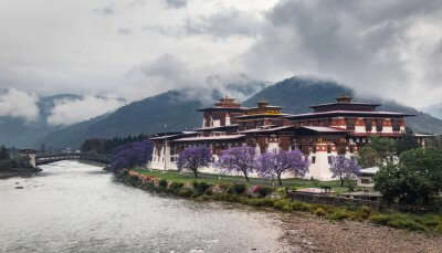 Awesome monsoon in bhutan