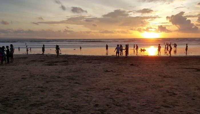 Sunset at Kuta