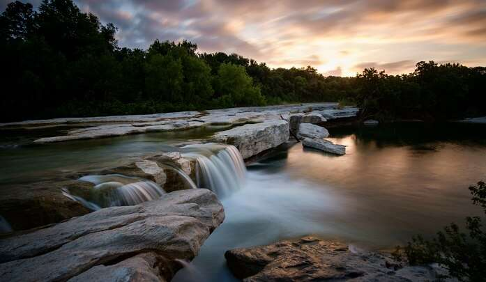 waterfalls in texas