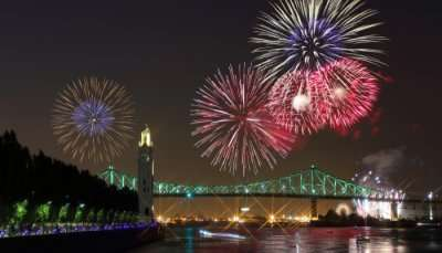 Awesome New Year In Montreal