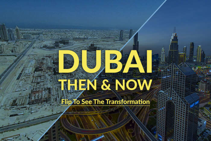 Dubai then&now cover