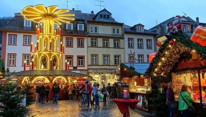 Christmas Market View