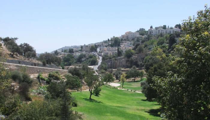 Hinnom Valley in Jerusalem