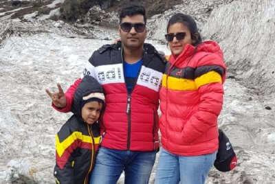 cover - Akhil Family Trip To Sikkim