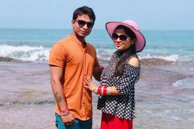 cover - Vinesh Honeymoon Andaman Trip