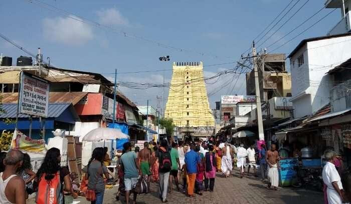 we visited Meenakshi Temple