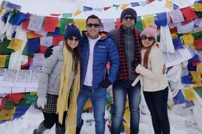 cover - Sandeep Couples Trip To Ladakh