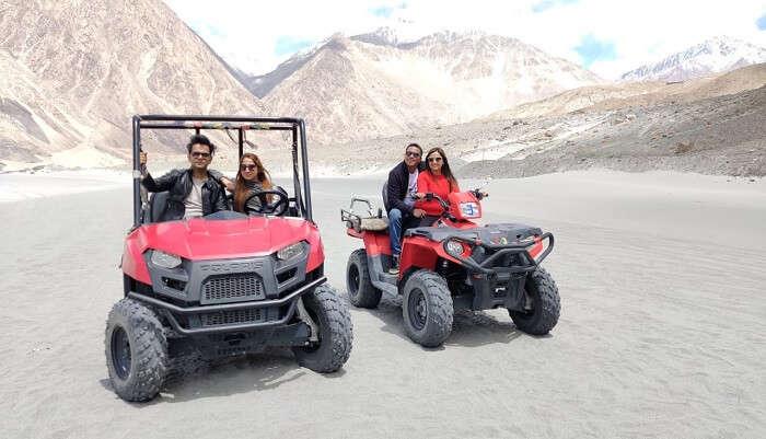 ATV Ride In Nubra Valley