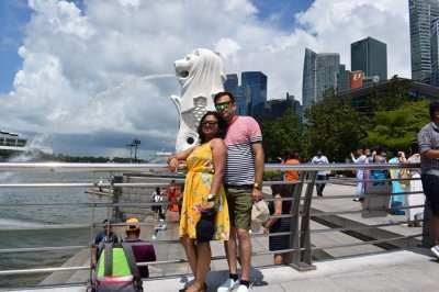 cover - Avik's Family Trip To Singapore