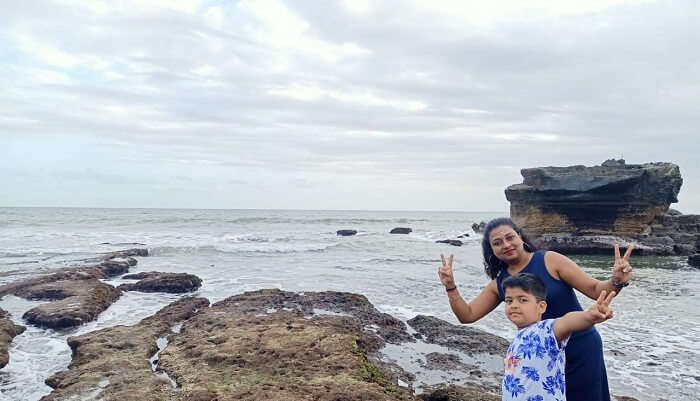 My Family at beach