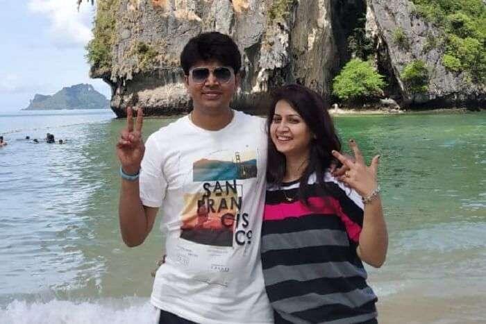 cover -Milind Krabi Honeymoon Trip