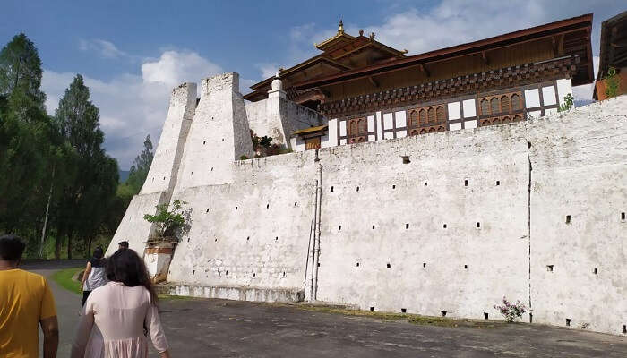 Chimi Lhakhang is a monastery