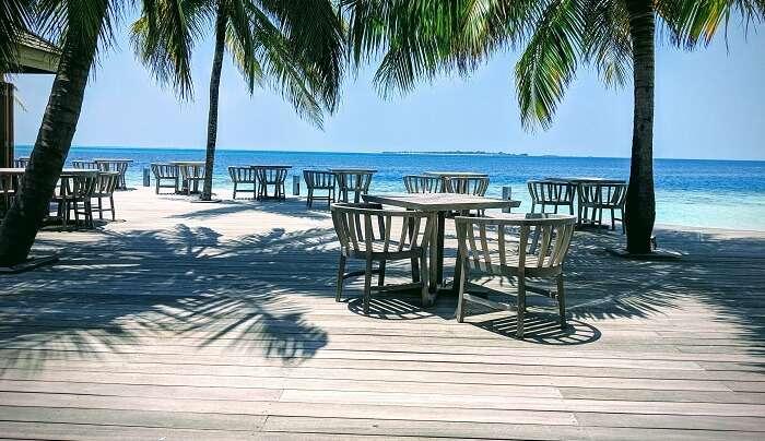 the luxurious ocean villas