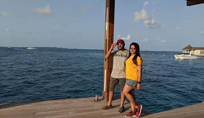 a lavish vacation to maldives