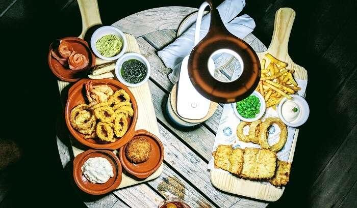 offers varities of foods
