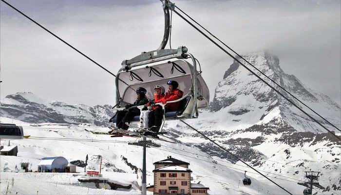 Matterhorn - Cable Car Ride